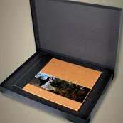 OV TanAcrylicPanoramicAlbumInBox