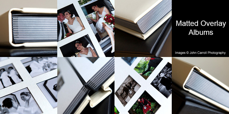 Matted Overlay Album from John Carroll Photography